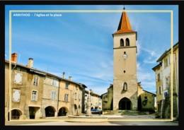 39  ARINTHOD  -  L'église  Et La  Place - Andere Gemeenten