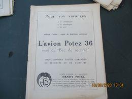 L'AIR REVUE BI.MENSUELLE ORGANE DE L'AVIATION FRANCAISE 1932 VOIR ETAT, MANQUE COUVERTURE - Aerei