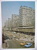 Poland: Poznan - Centrum - Ulica Czerwonej Armii - Red Army Street - Traffic, Old Car - Ca 1960s Unused - Polen