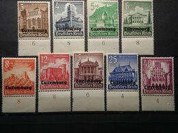 Deutsche Besetzung Luxemburg Mi-Nr. 33-41 * Postfrisch MNH Postfrisch - Besetzungen 1938-45