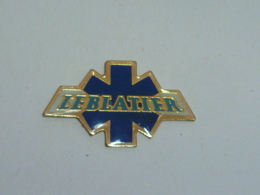 Pin's AMBULANCES LEBLATIER - Pompiers
