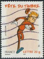 France 2006 Yv. N°3877 - Fête Du Timbre - Spirou - Oblitéré - France