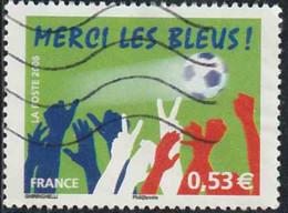 France 2006 Yv. N°3936 - Merci Les Bleus - Oblitéré - France