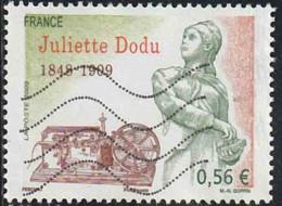 France 2009 Yv. N°4401 - Juliette Dodu - Oblitéré - France