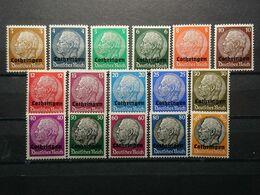 Deutsche Besetzung Luxemburg Mi-Nr. 1-16** Postfrisch MNH Postfrisch - Besetzungen 1938-45