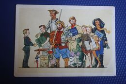 USSR . Pioneer Movement  - BOOKS, BEST FRIENDS: Don Quijote, Pinocchio, Dick Sand (Jules Verne) 1955 - Fiabe, Racconti Popolari & Leggende