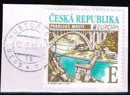 Tschechische Republik 2018,Michel# 977 O  Europa (C.E.P.T.) 2018 - Brücken - Czech Republic