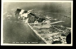 Gibraltar The Rock From The Air Rex Tobacconist - Gibilterra