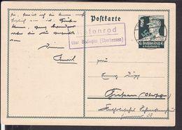 """Ganzsache Deutsches Reich Landpoststempel """" Kefenrod über Büdingen """" 1934 - Ganzsachen"""