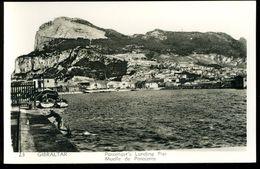Gibraltar Passenger's Landing Pier Muelle De Pasajeros 1954 - Gibilterra