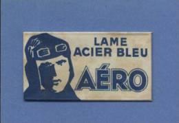 Une Lame De Rasoir AERO  LAME ACIER BLEU  (L109) - Razor Blades