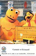 CPA-TV-1975-EMISSION-CANAL/J---CASIMIR Et LEONARD-Dédicacé Manuellement Au Feutre-TBE - TV-Serien
