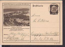 Ganzsache Deutsches Reich Bildpostkarte Stadtroda 1940 - Ganzsachen