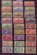 (Timbres). Ile De La Reunion. Serie (1) 53 Timbres Neuf Et Oblit. & 233 - 246 & 252 - 259 France Libre. Voir Scanner - Ongebruikt