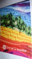 """Carte Postale """"Cart'Com"""" (2004) - Espace Odyssée (Exposition) Les Musiques Spatiales Depuis 1950 - Cité De La Musique - Werbepostkarten"""