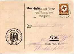 CARTE POSTALE 1934 - DOCUMENT DE LA POLICE - OBLIT. MECANIQUE - (A TRADUIRE ) - - Deutschland