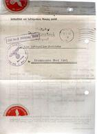 LETTRE DOCUMENT 1939 - POSTEE A KIEL - - Deutschland