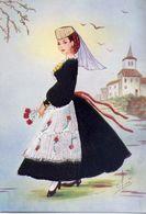 Abruzzo - Costume Regionale - Formato Grande Non Viaggiata – E 16 - Italy