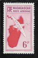 MADAGASCAR PA N°21 ** TB SANS DEFAUTS - Luftpost