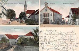 BUTTEN-67-Bas-Rhin-Sarre-Union-Alsace Bossue Mairie-Eglise-Moulin-Mühle-Warenhaus Schwab - Other Municipalities