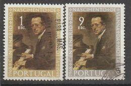 PORTUGAL CE AFINSA 1053/1054 - USADO - 1910-... República
