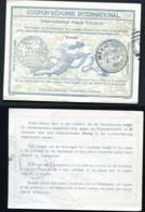 IRC2 International Reply Coupon Used Mexico 1911 - Entiers Postaux