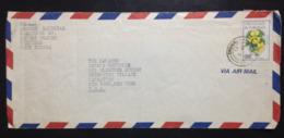 Trinidad & Tobago, Circulated Cover To U.S.A., 1985 - Trinidad & Tobago (1962-...)