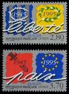 FRANKREICH 1995 Nr 3084-3085 Postfrisch X0A71E6 - Neufs