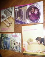 "4 Cartes Postales ""Cart'Com"" (2004) - Club Internet (femme Dans Une Machine à Laver, Cabane De Toilette, Spaghetti,...) - Werbepostkarten"