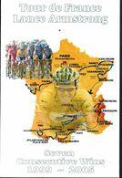 CPM FRANCE NEUVE -  1999-2005, 6 VICTOIRES TOUR DE FRANCE LANCE ARMSTRONG - - Cycling