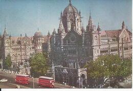 CPSM Asie Inde Maharashtra Bombay V T Station - India