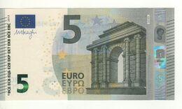 "5 EURO  ""Spain""    DRAGHI    V 010 F6    VB4130855578     /  FDS - UNC - EURO"