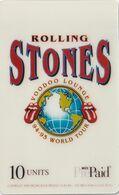 ESTADOS UNIDOS. Rolling Stones Voodoo Lounge World Tour Promo: Earth Globe L. 5000 Ex. MCI-Pr34b. (157). - Vereinigte Staaten