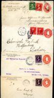 U362 4 PSE Covers Used To Germany 1901-03 Walla Walla WA - ...-1900