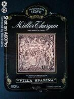 MÜLLER THURGAU 1981 VILLA SPARINA - MONTEROTONDO DI GAVI (ALESSANDRIA) - ETICHETTA - ÉTIQUETTE - Blancs