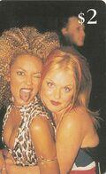 ESTADOS UNIDOS. Spice Girls - Melanie Brown And Emma Bunton. US-SPR-SIN-0002. (158). - Other
