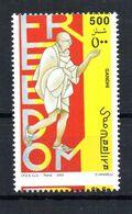 SOMALIA, 2003 - GANDHI - FAMOUS PEOPLE - MNH** VARIETA' (vedi Descrizione).. - Somalia (1960-...)