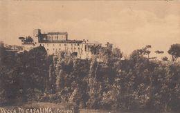 ROCCA DI CASALINA-DERUTA-PERUGIA-CARTOLINA VIAGGIATA IL 20-8-1908 - Perugia