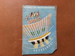 PROGRAMME APOLLO-THEATER  Düsseldorf  DER TALISMAN  Rex Harrison Virgina Mayo George Sanders Laurence Harvey  ALLEMAGNE - Programmi