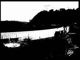 (I 8) France - Barrage De Bort-Les-Orgues - Water Tank (black & White Postcard) - Châteaux D'eau & éoliennes