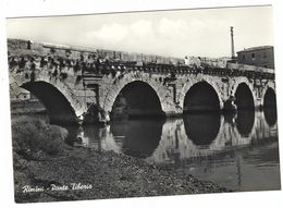 CLB332 - RIMINI PONTE TIBERIO 1950 CIRCA - Rimini