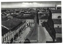 CLB335 -  FAENZA PIAZZA DELLA LIBERTA' E PANORAMA 1964 - Faenza