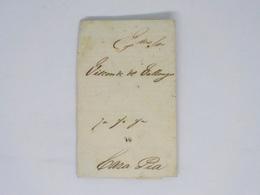 Cx13 C) Portugal Porto Pré-Filatélico VIsconde De Valongo (à Casa PIa) Convite Bilhete Récita Teatro S. João 22.12.1847 - Eintrittskarten