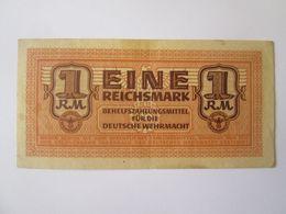Rare! Germany 1 Reichsmark 1942 Banknote For Deutsche Wehrmacht - [ 4] 1933-1945: Derde Rijk