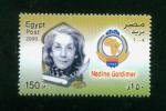 EGYPT / 2009 / SOUTH AFRICA / NADINE GORDIMER / NOBEL PRIZE IN LITERATURE / MNH / VF . - Egypt