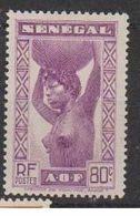 SENEGAL          N°  YVERT  146      NEUF AVEC CHARNIERES      ( CHARN  03/ 32 ) - Unused Stamps