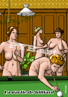 PYB : La Partie De Billiard #2 [ Nu Nude Femme Billard ] - Dibujos