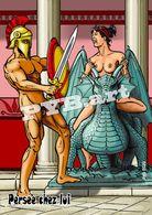 PYB : Intimité #4: Persée Chez Lui [ Nu Nude Perseus Homme Femme Dragon Sword Shield ] - Dibujos