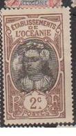 OCEANIE    N°  YVERT  :  22     NEUF AVEC  CHARNIERES      ( Ch  3 / 19 ) - Unused Stamps