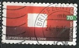 Allemagne Fédérale - Germany - Deutschland 2019 Y&T N°3230 - Michel N°3446 (o) - 70c Phénomène Météorologique - Used Stamps
